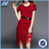 Yihao factory 2015 new fashion summer dresses for women plus size sexy dress with lace
