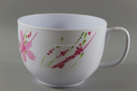 Melamine Plastic Cream Soup Cup,Melamine Soup Bowl With Handle