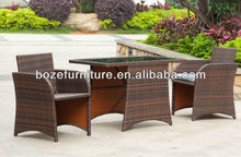 All Weather Wicker Conversation Set