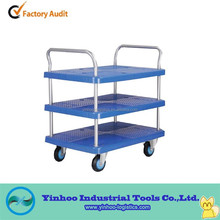 high loading capacity utility hand platform trolley made in China suzhou supplier warehouse NEW