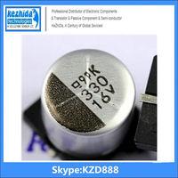Capacitor Aluminium 330UF 16V 20% SMD 201mA 7000Hours 8x10mm ECE-V1CA331P 105C (best price) UT KZD Series