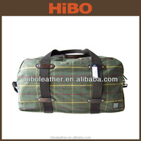 Light easy carrying large space canvas rib stop trave duffle bag
