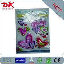 3D handmade sticker/home decor adhesive paperboard sticker