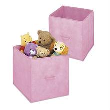Fabric Storage Box for shoe boot clothing foldable storage case