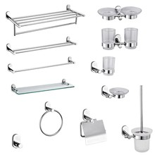 Modern Wall Mounted ss bathroom accessories