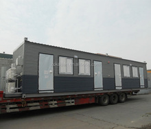 Cheap standard 20ft living prefab container hotel/ shipping container hotel room