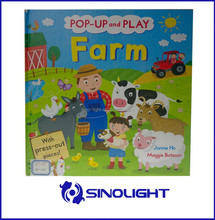 Pop up 3d children book