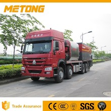 Metong new product high effency road construction machine fiber chip sealer(3 in 1)with 3C,SGS,,ISO9001