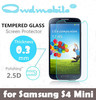 PHONE PROTECTOR !9H Tempered screen protector for Samsung S4 MINI 0.3mm round edge