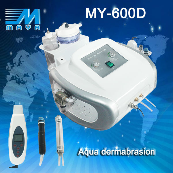 Guangzhou Factory SPA Hydro dermabrasion skin care beauty equipment/ nice dermal dermabrasion machine MY-600D