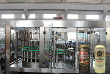 beverage can filling and sealing machine