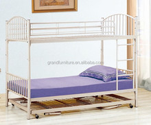 Home Furniture General Use Adult Bunk Bed With Trundle Bed