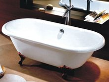 The factory 's price fiberglass claw foot tub for sale
