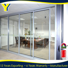 Australian standard Aluminium profile Sliding soundproof doors with AS2047