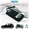Portable gps car tracker with over-speed alert and remote monitoring