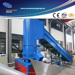 New type automatic film and fiber agglomerator machine