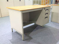 China top quality steel office desk with locking 3 drawers cabinet in USA market