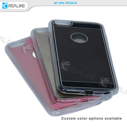 Guangzhou factory wholesale soft tpu mobile phone case, soft case for i phone