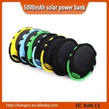 Solar power universal mobile phone power bank charger waterproof solar charger sun mobile power bank