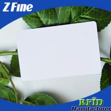high quality blank iso 7816 contactless smart ID/IC card
