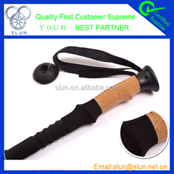 2015 New fashion climbing outdoor activity carbon High Quality Alpenstock