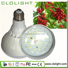 18W LED Plant Grow Light Clamp Fixture with Reflector For Hydroponic Garden Greenhouse