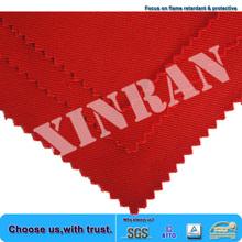 China factory wholesale oeko-tex 100 EN11611 EN11612 fire resistant low formaldehyde cotton stretch twill fabric