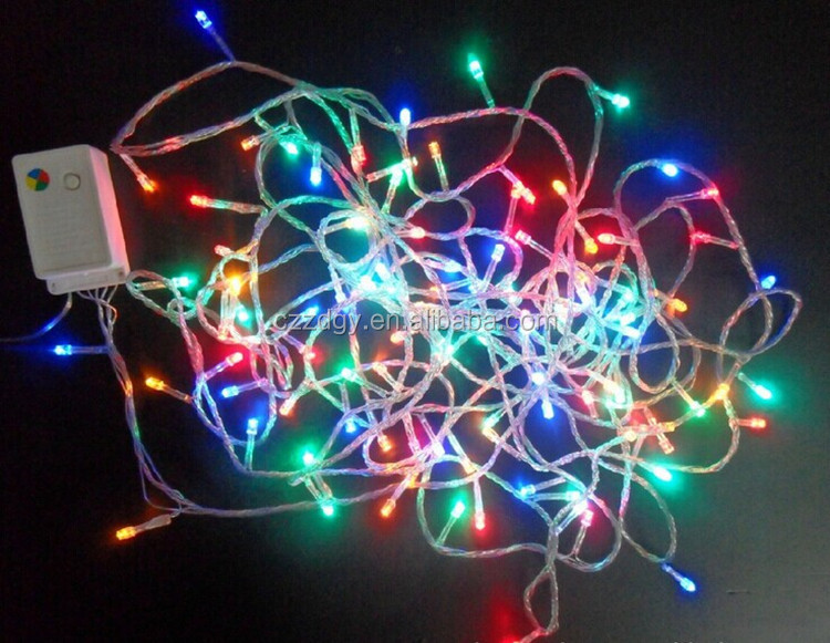 Beautiful Decorative Christmas Pearl Light String Customized Colors - Buy Led Decoration Light ...