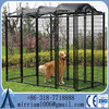 2015 new style Large Welded Dog Kennel, galvanized chain link dog kennel panels