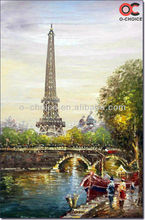 2013 New handmad european oil painting paris