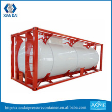 Honest Oriented Double Wall Iso Lng Container Tank