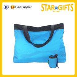 Promotional waterproof tote shopping bag custom logo foldable shopping bag
