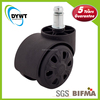 new high quality small removable plastic furniture caster wheels