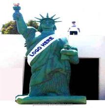 Libertad tela estatua de la libertad de la decoración / inflable estatuilla estatua de la libertad