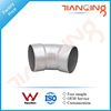 G201 Factory price pipe fitting 45 degree stainless steel 316l elbow