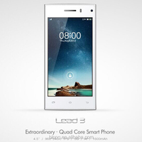 Leagoo Lead 3 Smart phone 4.5 inch MTK6582 Quad Core Android 4.4 Mobile Phone 5MP Dual Sim 3G Cheap Cell Phone