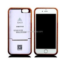 100% real wood radiation proof phone case,anti-radiation phone case