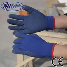 nmsafety 13 calibre de látex guantes de trabajo ce guantes de la construcción