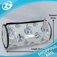 Factory Made Eco Transparent PVC Cosmetic Bags with Zipper