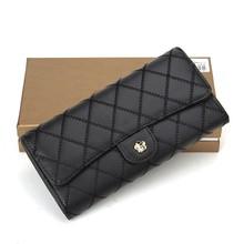 newest ladies wallet ladies pars hand set bag genuine wallet