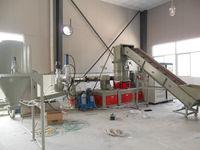 Crushing &extruding pelletizing machine for Plastic film