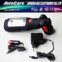 AUTOCARE 1 LED + 3W COB Working Light 3W COB LED Magnetic Flashlight 200 Lumens
