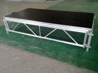 adjustable portable stage platform, event stage platform, Indoor/outdoor aluminium large mobile folding stage