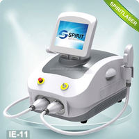 Good Quality 2 in 1 SHR and ND YAG laser machine Movable Screen medical laser equipment for rent 10HZ