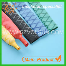 Red& Black Colorful Non-slip Heat Shrink Sleeve for Fishing Rod