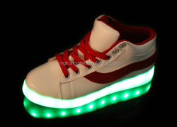 New Design Changeable Light High Quality LED Sport Shoes