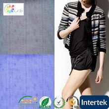 New design 100% wool printed silk cotton fabric