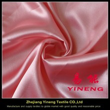 printed satin fabric composition
