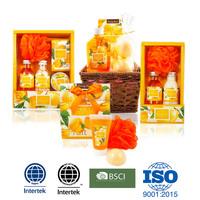 Apricot collection premium toiletry gift bath set