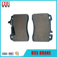 front disc break pad with wear indicatorD561